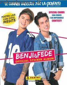 Copertina BENJI & FEDE Official Sticker Album