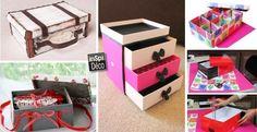 RECYCLER LES BOITES A CHAUSSURES!VOICI 16 IDÉES CRÉATIVES... Recycler les boites à chaussures.Voici 20 idées originales de recycler vos boites à chaussures! Laissez-nous vous inspirer avec 16 idées créatives... Amusez-vous bien et bonne récup!...