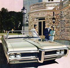 68 Pontiac Bonneville Convertible