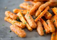 Roasted Parmesan Carrots – savory, sweet and completely addicting! This recipe is one of my favorite ways to eat carrots. Roasting them with the olive oil, parmesan, and garlic turns an ordinary carrot into something extraordinary. You can turn any carrot-haters into carrot-lovers with this recipe. Seriously. They are that good. And so easy to make! …