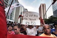 Anistia Internacional: Protesto não é crime - Revista Fórum Digital