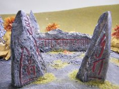 Standing Stones (with Oblivion style glyphs)