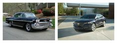 The evolution of Impala. Impala, Evolution, Chevrolet, Vehicles, Car, Automobile, Rolling Stock, Cars, Autos