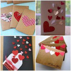Cartão para Dia dos Namorados Criativo Bf Gifts, Boyfriend Gifts, Fun Crafts, Crafts For Kids, Paper Crafts, Balloon Crafts, Homemade Birthday Cards, Happy Valentines Day Card, Craft Wedding