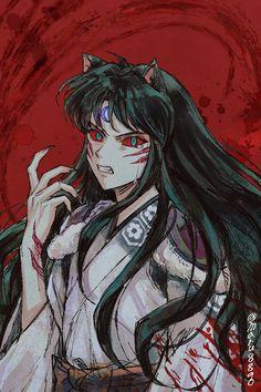 Anime Oc, Manga Anime, Seshomaru Y Rin, Inuyasha Fan Art, Inuyasha And Sesshomaru, Cute Anime Wallpaper, Kawaii Anime Girl, Attack On Titan, Fangirl