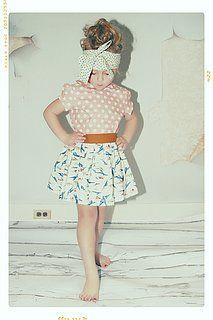 Fleur and Dot Vintage Clothing For Little Girls