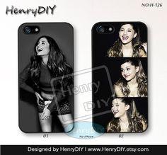 Ariana grande Phone Cases, iPhone 5/5S Case, iPhone 5C Case, iPhone 4/4S Case, Ariana grande, iDol Phone covers, Case for iPhone~H-126