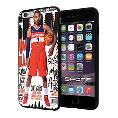 """NBA Basketball Player Johnathan Hildred Wall (John Wall) Washington Wizards, Cool iPhone 6 Plus (6+ , 5.5"""") Smartphone Case Cover Collector iphone TPU Rubber Case Black Phoneaholic http://www.amazon.com/dp/B00WFRN9QI/ref=cm_sw_r_pi_dp_SPNpvb0F02T4R"""