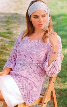 KickassTorrents is back Knitting Designs, Knitting Patterns, Color Bordo, Crochet Clothes, Knit Dress, Crochet Top, Bell Sleeve Top, Tunic Tops, Casual