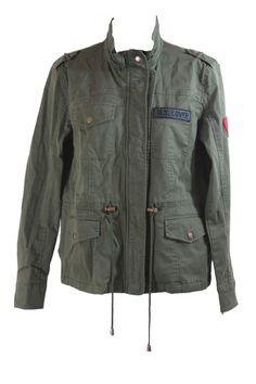 Lovers + Friends Jane Cargo Jacket in Army Green