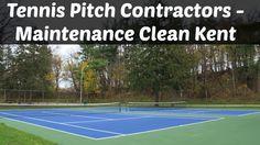 Tennis Pitch Contractors - Maintenance Clean #Kent
