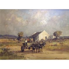 Jay Barber was an artist who was born in Sandusky. His specialty was painting landscape scenes including cattle. Inuit Art, Ancient Ruins, American Art, Barber, Landscape Paintings, Gallery, Artwork, John Jay, Donkey