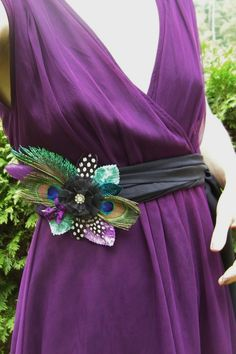 Idk if you're doing peacock stuff but it could be for your dress or bridesmaids.