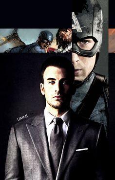 Photoedit: Captain America by UmmiKhalilah94.deviantart.com on @DeviantArt