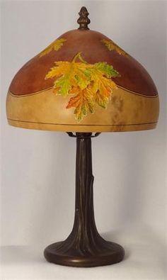 Fall Gourd Lamp by Gloria Crane