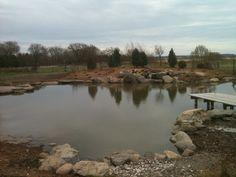 Earthen pond 2