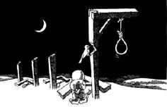 EU SOU ESPÍRITA! : ACERCA DA PENA DA MORTE   A execução de uma sentença de morte, na maioria dos casos, é a libertação prematura da alma que se arrojou ao despenhadeiro da sombra. E sabemos que só a pena de viver na carne é suscetível de realizar a recuperação daqueles que se fizeram réus confessos diante dos tribunais humanos. Não vale afugentar moscas sem curar a ferida. VER COMPLETO: http://rsdurantdart.blogspot.com.br/2014/07/acerca-da-pena-da-morte.html