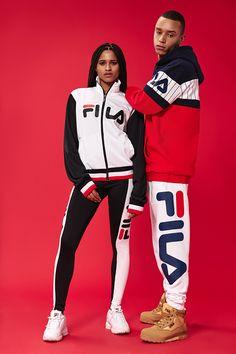 81d21b864223e FILA FW 17 campaign. Sporty OutfitsDope ...