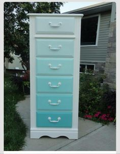 Kayboo Creations Ombre Dresser I Have The Perfect To Do This With