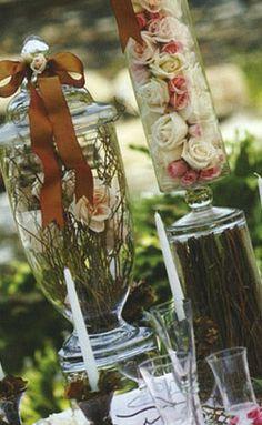 Apothecary Jars... love it!