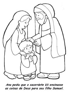 Ana entrega Samuel a Eli.(1 Samuel 1:21-28)