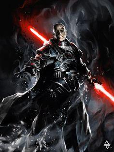 Star Wars - Sith Lord by Michał Sztuka