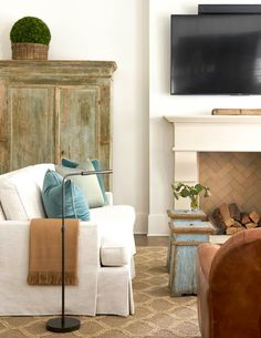 Your home can feature an Isokern Fireplace designed to fit every space. Check out earthcore.com to start your project today. French Living Rooms, Coastal Living Rooms, Living Room Decor, Living Spaces, Family Room Design, Dining Room Design, Family Rooms, Cast Stone Fireplace, Fireplace Mantels