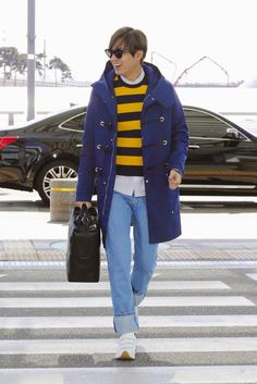 The Imaginary World of Monika: Lee Min Ho at Incheon International Airport and Charles de Gaulle International Airport - 10.03.2015