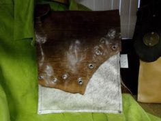 Handcrafted Leather BOHO Indie Messenger by WhiteBuffaloCreation, $89.00