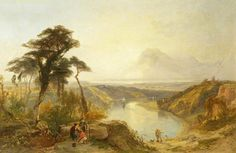 Avon from Clifton Down, Sunset By James Baker Pyne