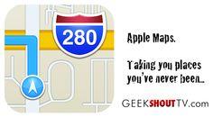 Using Apple Maps Can Kill You - Geek Shout TV \u2014 Geek Shout TV #problems #ios_6 #Apple