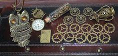 Weiteres - Steampunk Set Zahnräder Bronze Konvolut 20 Teile - ein Designerstück von Caldren bei DaWanda
