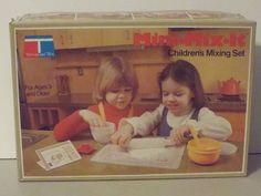 Tupperware Mini Mix It Cooking Set 1979 Complete Set