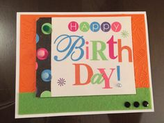 Napkin card for Eric's 38th birthday.