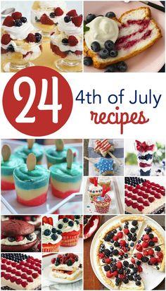 24 4th of July Festive Dessert Recipes