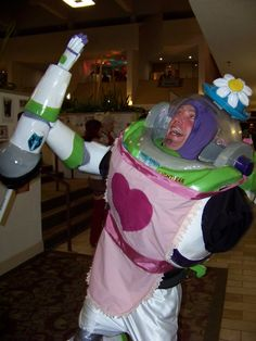 Buzz Lightyear/Mrs. Nesbitt costume