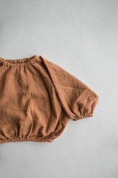 The daily pullover - terracotta
