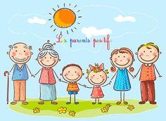 Les parents positifs : diffuseurs de solutions familiales