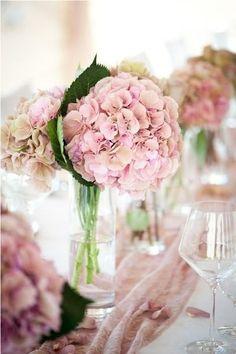♔ Hydrangea Cuddle Me Cozy Pretty In Pink, Pink Flowers, Beautiful Flowers, Pink Peonies, Peony, Vintage Fairytale Wedding, Wedding Bouquets, Wedding Flowers, Pink Hydrangea