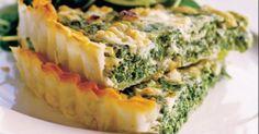 Špenátový kiš - dôkladná príprava krok za krokom. Recept patrí medzi tie najobľúbenejšie. Celý postup nájdete na online kuchárke RECEPTY.sk.