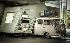 Vw camping in style