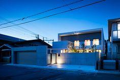 Entrance Lighting, Garage House, Facade, Mansions, House Styles, Interior, Design, Home Decor, Decoration Home