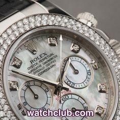 """Rolex Cosmograph Daytona - Diamond Bezel & Dial REF: 116589RBR 