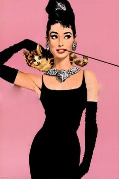 Unknown Artist Audrey Hepburn pop art painting