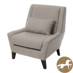 Christopher Knight Home 'Naomi' Beige Fabric Accent Chair | Overstock.com