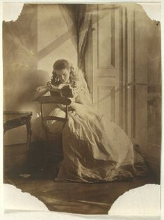 billyjane:To acquire the habit of reading is to construct for yourself a refuge from almost all the miseries of life.  W. Somerset Maugham    Clementina Maude, 1863 by Lady Clementina Hawarden