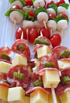 Appetizers Recipes Recipe ideas for a successful aperitif, easy and fast! – Vano… Appetizers Recipes Recipe ideas for a successful aperitif, easy and fast! Skewer Appetizers, Appetisers, Antipasto Skewers, Clean Eating Snacks, Healthy Snacks, Healthy Recipes, Protein Snacks, Healthy Breakfasts, Eating Healthy