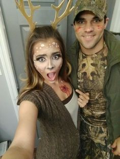 Couple Costumes: The Hunter and His Deer