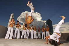 Capoeira; I miss this. Did this for the flexibility & dance back in uni.