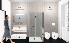 Bagno Stretto E Lungo Lavatrice : 10 fantastiche immagini su bagno stretto e lungo bathroom